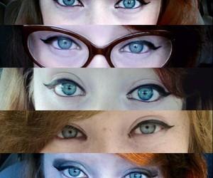 blueeyes, eyes, and trichotillomania image