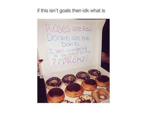 donuts and Prom image