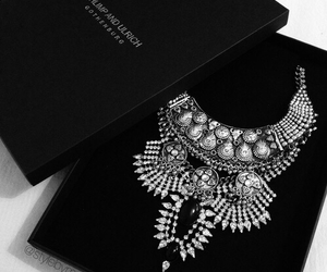 necklace, fashion, and silver image
