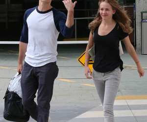 britt robertson, couple, and dylan o'brien image