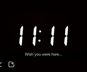 wish, 11:11, and snapchat image
