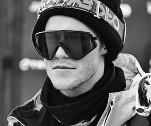 norway, norwegian, and snowboard image