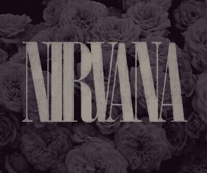 flowers, grunge, and nirvana image