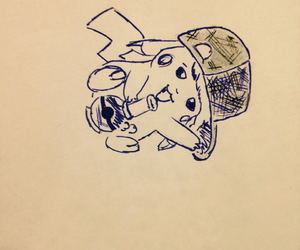 disegni, picachu, and drawing image