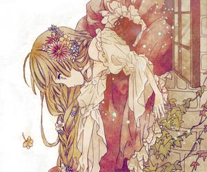 anime, anime girl, and rapunzel image