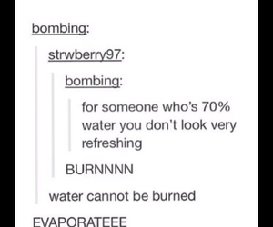 funny, burn, and fire image