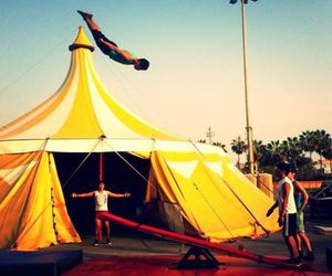 circus, colors, and cousin image