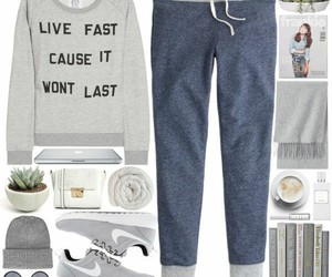 fashion, lookbook, and outfit image