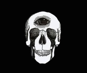 eyes, mind, and skull image