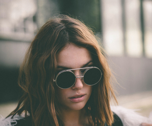 girl, style, and sunglasses image