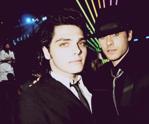 gerard way, jared leto, and my chemical romance image