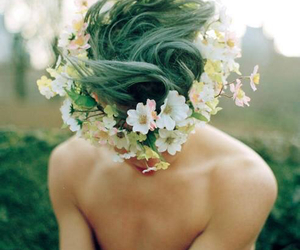 flower boy, look, and green image