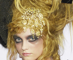 Christian Lacroix, fashion, and hair image