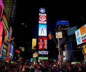 new york city, ny, and times square image