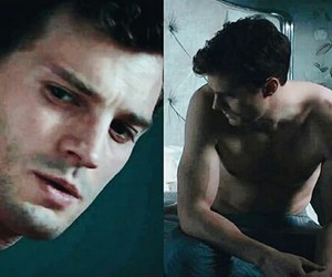Jamie Dornan, fifty shades, and christian grey image
