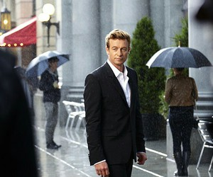 blue eyes, the mentalist, and love image
