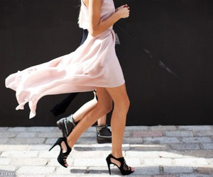 fashion, dress, and shoes image