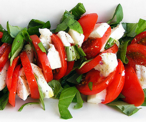 food, fruit, and tomatoes image