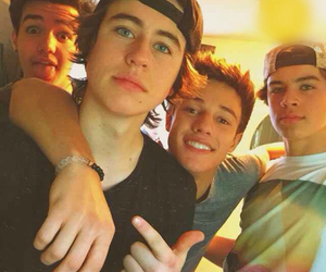 cameron dallas, nash grier, and aaron carpenter image