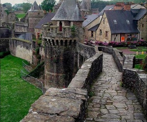 france, fougères, and rampart image