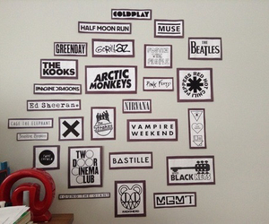 bands, arctic monkeys, and green day image
