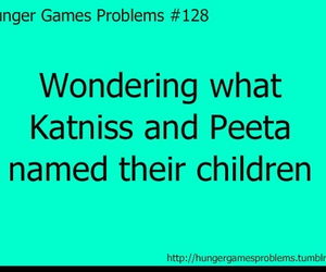 fandom, problem, and hunger games image