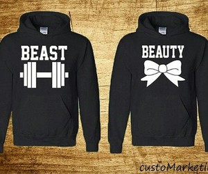 love, beast, and beauty image