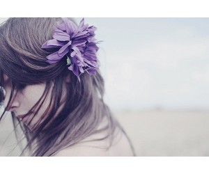 girl, flower, and beautiful image