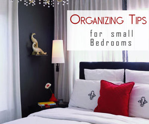decorating small bedrooms, organizing small bedroom, and organize small bedroom image