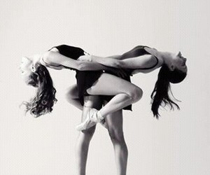 ballet, couple, and beuty image