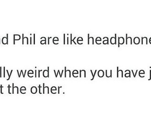 amazingphil, danisnotonfire, and headphonez image