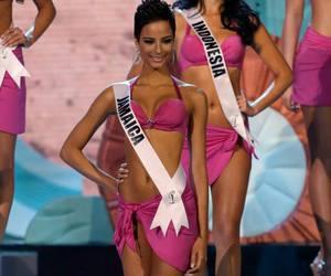 bikini, crown, and jamaica image