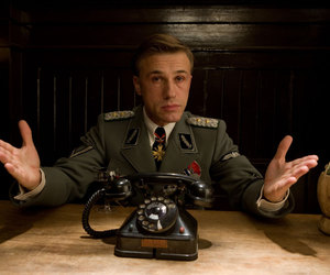 inglourious basterds and christoph waltz image
