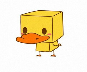 adorable, duck, and wallpaper image