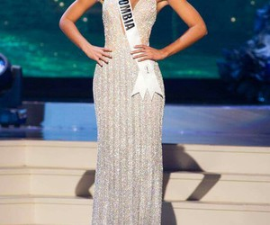 beautiful, colombia, and miss universe image