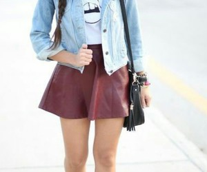 boots, cute, and outfit image