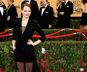 emma stone and red carpet image
