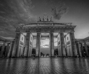 berlin, clouds, and europe image