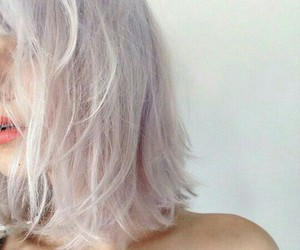 hair, pale, and hair goals image