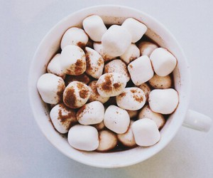 food, marshmallow, and yummy image