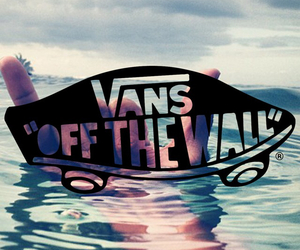 vans, water, and shoes image