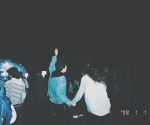 grunge, party, and dark image