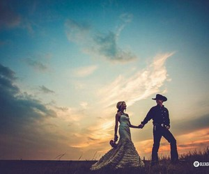 boda, country, and cowboy image
