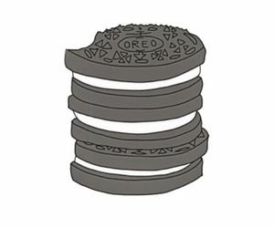 oreo, overlay, and Cookies image