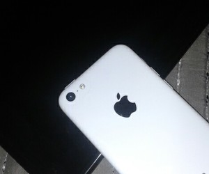 white and iphone 5c image