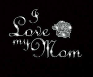 black, mom, and parents image