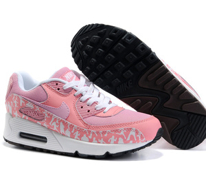 air max, pink, and shoes image