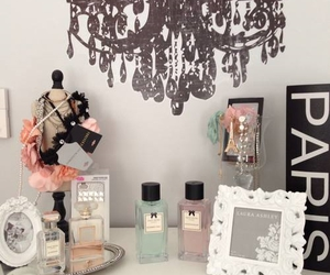 paris, decor, and girly room image