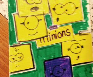 disegni, minions, and drawing image