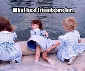 best friends, cute, and lol bruhh image